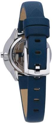 Furla Metropolis Stainless Steel Leather-Strap Watch