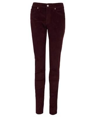 Levi's 721 High Rise Skinny Cord Colour: Malbec, Size: 27