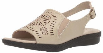 Easy Street Shoes Women's Rose Comfort Sandal with Cutouts