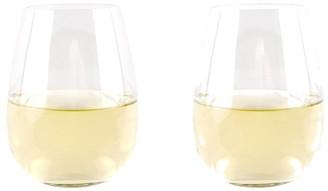 Cellar Premium Stemless Wine Glass 550ml Set of 2