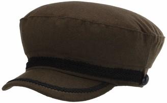 Vince Camuto Women's Rope Trim Military Cap