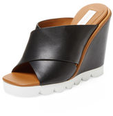 See by Chloe Crossover Leather Wedge