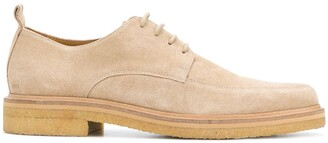 Ami Paris Creeper Derbies With Crepe Sole