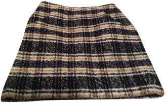 Maje Fall Winter 2018 White Wool Skirt for Women