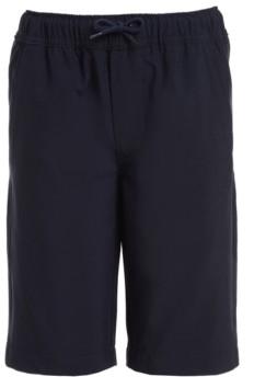 Nautica Big Boys Husky Lowell Stretch Khaki Jogger Shorts
