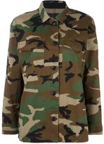 Rag & Bone Jean camouflage military jacket