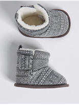 Marks and Spencer Baby Riptape Pram Shoes