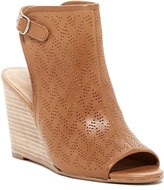 Lucky Brand Risza Perforated Slingback Wedge