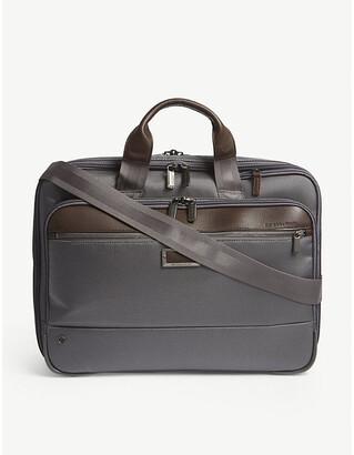 Briggs & Riley Grey @Work Expandable Nylon Briefcase