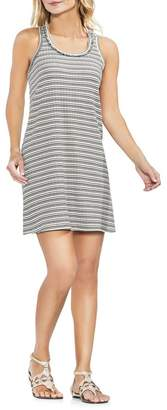 Vince Camuto Ribbed Stripe Tank Dress