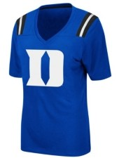 Colosseum Women's Duke Blue Devils Rock Paper Scissors T-Shirt