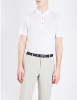 Canali Cotton-jersey polo shirt