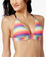 California Waves Cross-Back Bikini Top