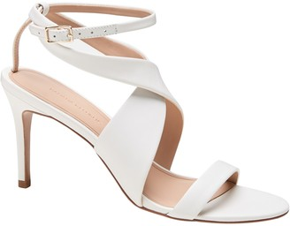 Banana Republic Leather Wrapped High-Heel