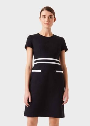Hobbs Primrose Colourblock Shift Dress