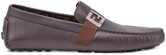 Fendi FF detailed loafers