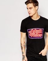 Eleven Paris X Life Is A Joke T-shirt With Adult Video Print - Black