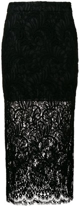 Stella McCartney Lace Midi Skirt