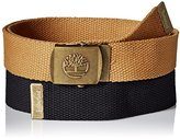 Timberland Men's Web Belt 2-Pack