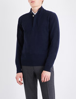 Corneliani Stand collar knitted jumper