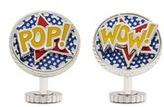 Tateossian Rotating pop art cufflinks