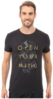 Life is Good Open Your Mind Leaves Newbury Tee