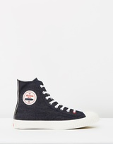 Uncle Roccou2019s Limited Selvedge Denim Sneaker