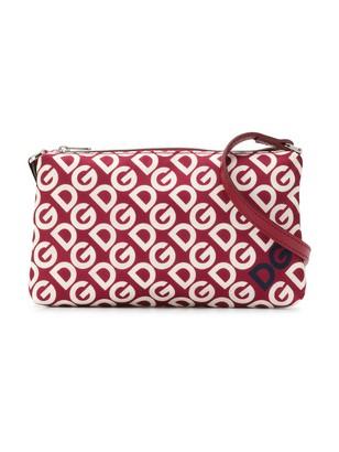 Dolce & Gabbana All-Over Logo Clutch Bag