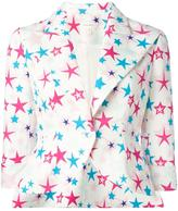 DELPOZO star print blazer - women - Cotton/Viscose - 36