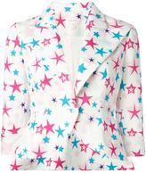 DELPOZO star print blazer