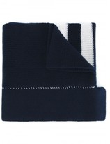Raf Simons stripe detail scarf