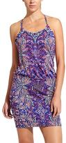 Athleta Aqualuxe Print Swim Dress