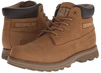 Caterpillar Casual Founder (Bronze Brown Nubuck) Men's Lace-up Boots