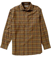 Daniel Cremieux Signature Long-Sleeve Plaid Heather Woven Shirt