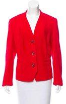 Rena Lange Collarless Wool Blazer w/ Tags