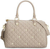 Betsey Johnson Rhinestone Stud Satchel, Only At Macy's