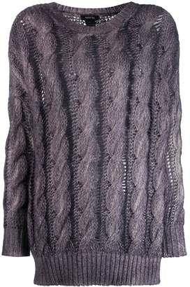 Avant Toi cashmere cable knit sweater
