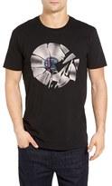 Ben Sherman Men's Shattered Record Graphic T-Shirt