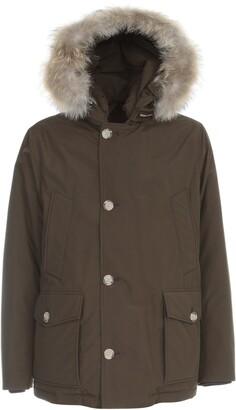 Woolrich Fur Trim Hooded Arctic Coat