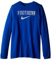 Nike All Football Training T-Shirt (Little Kids/Big Kids)