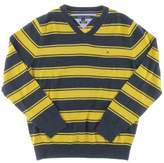 Tommy Hilfiger Mens Knit Long Sleeves Pullover Sweater