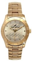 Daniel Hechter DHD 1EM - 004/Women's Watch Analogue Quartz Golden Dial Gold Plated Steel Bracelet