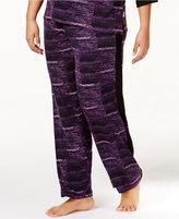 DKNY Plus Size Resort Printed Lounge Pants