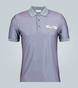 Givenchy Iridescent short-sleeved polo shirt