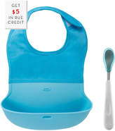 OXO Tot Roll Up Bib And Feeding Spoon Set With $5 Rue Credit