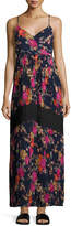 Lucca Couture Pleated-Skirt Floral-Print Maxi Dress, Multi