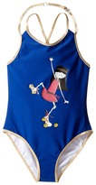 Little Marc Jacobs One-Piece Miss Marc Swimsuit Girl's Swimsuits One Piece
