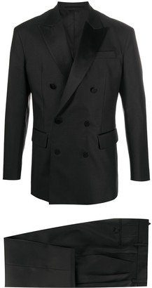 DSQUARED2 Double Breasted Peak-Lapel Suit