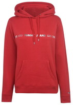 Tommy Jeans Tommy Linear Logo Hoodie