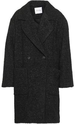 American Vintage Double-breasted Boucle-tweed Coat